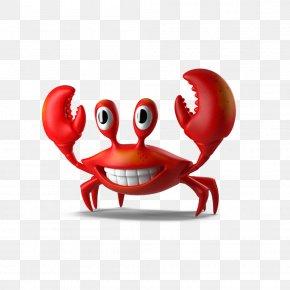 Cartoon Crab - Crab Cartoon Illustration PNG