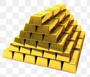 Free Gold Heap Material To Pull Wayward - Gold Bar Bullion Gold As An Investment Stock Photography PNG