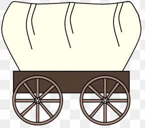 Chuckwagon Cliparts - The Oregon Trail American Frontier Covered Wagon Clip Art PNG