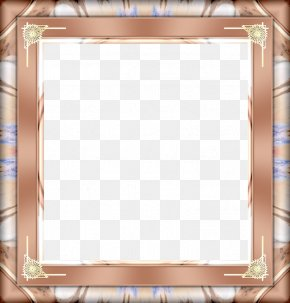 Brown Frame - Picture Frame PNG