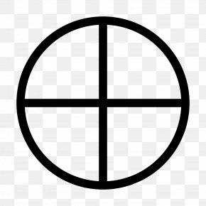 Crosshair - Basketball Court Sport PNG