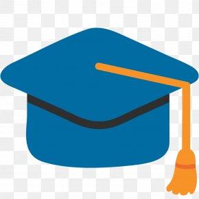 Graduates - Emoji Graduation Ceremony Square Academic Cap Hat PNG