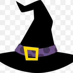 Hat - Witch Hat Clip Art Witchcraft Pointed Hat PNG