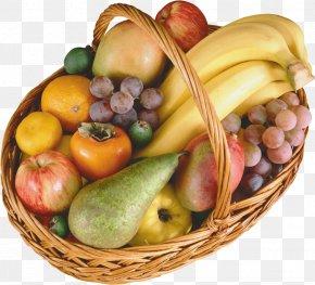Fruits - Basket Of Fruit Vegetable Food PNG