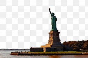 USA Statue Of Liberty - Statue Of Liberty Ellis Island Central Park Statue Of Liberty Ellis Island New York Harbor PNG