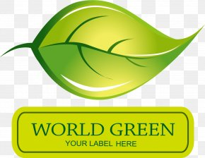 Green Leaves Picture Material - Logo Leaf Drawing PNG