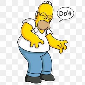 Facepalm Png Homer Simpson - Homer Simpson Image Cartoon Character D'oh! PNG