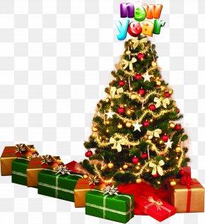 Dress Up Christmas Tree - Christmas Tree Santa Claus Christmas Ornament Fir PNG