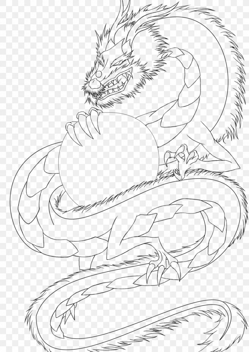 Line Art Drawing Chinese Dragon China, PNG, 900x1273px, Line Art, Arm, Art, Artwork, Black And White Download Free