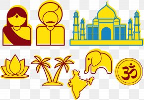 Vector Taj Mahal - Taj Mahal Mahal, India New7Wonders Of The World Clip Art PNG