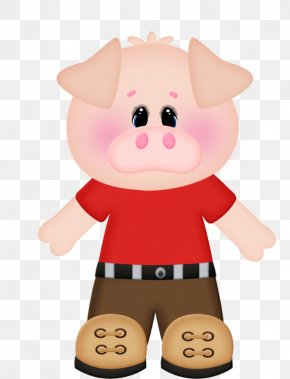 Pig - Domestic Pig The Three Little Pigs Clip Art PNG