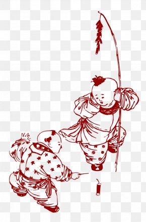 Artwork Villain - China Chinese New Year Tangyuan Firecracker PNG