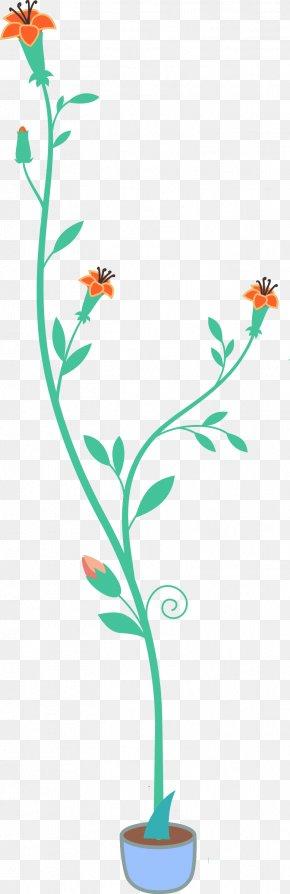 Flower Pot Top View - Flower Plant Clip Art PNG