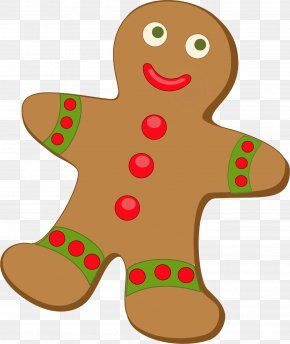 Transparent Gingerbread Cliparts - Gingerbread House Candy Cane Gingerbread Man Clip Art PNG