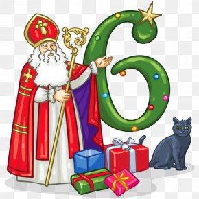 Saint Nicholas - Santa Claus Christmas Ornament Saint Nicholas Day PNG