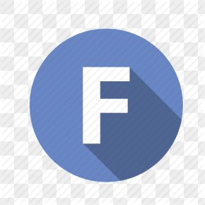 Blue Round Letter F Icon - Letter Chrome Web Store Font PNG
