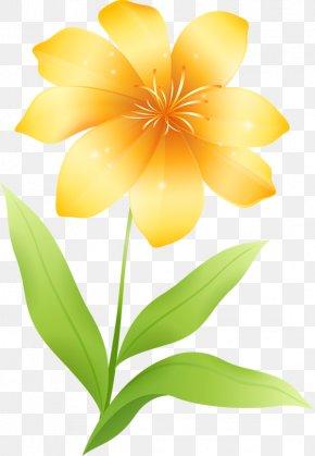 Yellow Flower Clipart - Flower Yellow Clip Art PNG