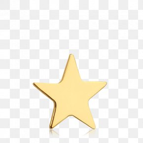 Gold Stars - Body Jewellery Star Human Body PNG