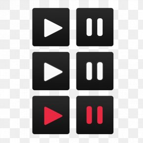 Play Button - Button Google Play Baby Shower App Store Icon PNG