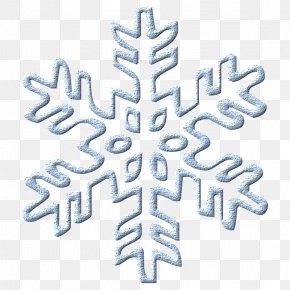 Blue Snowflake - Snowflake Blue Pattern PNG