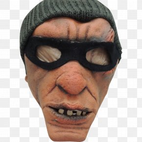 Thief - Chin Nose Snout Forehead Mask PNG