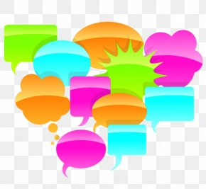 Butterfly Pea Flower - Text Speech Balloon Comics PNG