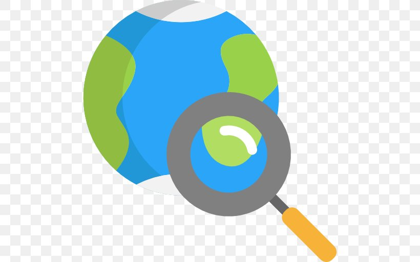 Earth Magnifying Glass Icon, PNG, 512x512px, Earth, Apartment, Blue, Brand, Gratis Download Free