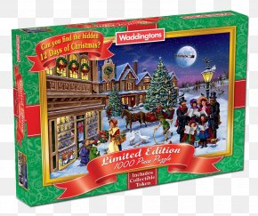 Christmas Jigsaw Puzzles - Jigsaw Puzzles Italy History Waddingtons Christmas Ornament PNG