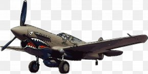 Rambo - Curtiss P-40 Warhawk Airplane Flying Tigers Fighter Aircraft Clip Art PNG