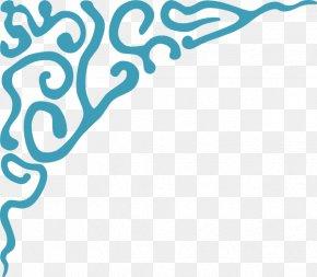 Corner Border - Clip Art PNG