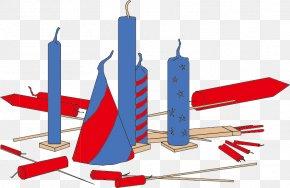 Vector Color Fireworks - Diwali Fireworks Firecracker Festival PNG