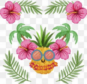 Cool Pineapple Villain - Pineapple Interior Design Services Picture Frame Glass PNG