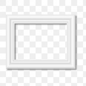 White Frame - Black And White Pattern PNG