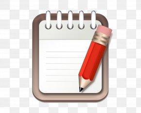 Notebook - Notebook Pencil Clip Art PNG