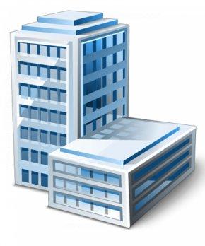 Building - Building Office Biurowiec Clip Art PNG