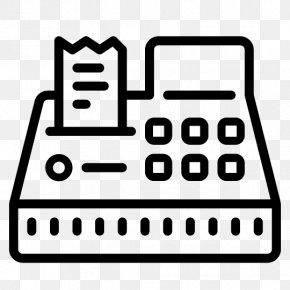 Cash Register - Cash Register Money Point Of Sale Cashier PNG