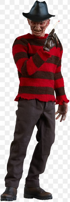 Freddy Krueger Jason Voorhees A Nightmare On Elm Street Action & Toy Figures Sideshow Collectibles PNG