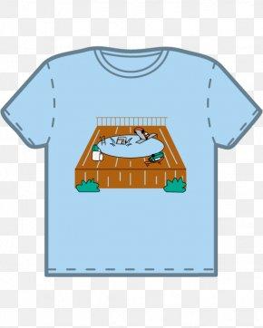 T-shirt - T-shirt Cartoon Sleeve PNG