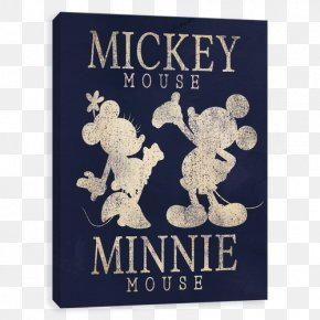 Mickey Mouse Minnie Mouse Silhouette - Mickey Mouse Universe Minnie Mouse The Walt Disney Company PNG
