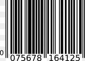Barcode Cliparts - Barcode Scanners Universal Product Code International Article Number Clip Art PNG