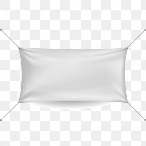 White Cloth With Four Angles - Textile White Pattern PNG