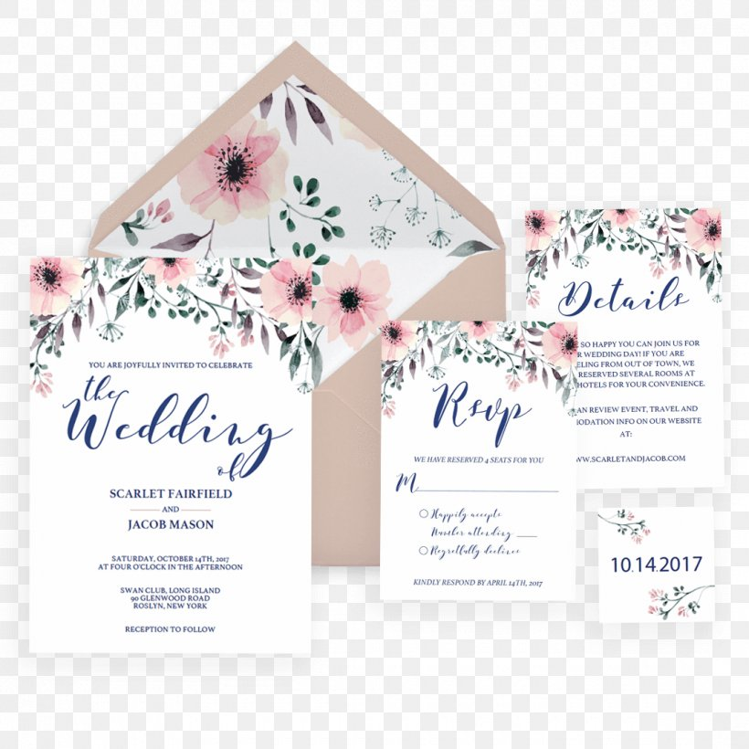 Wedding Invitation Place Cards Wedding Reception Paper Png
