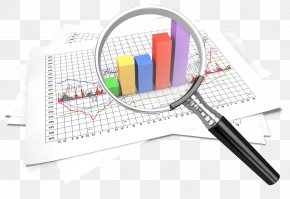 Magnifying - Data Chart Download Clip Art PNG