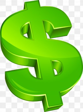 Coin Symbol - Dollar Sign Currency Symbol PNG