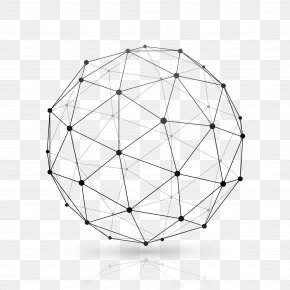 Euclidean Vector - Globe Website Wireframe Sphere Wire-frame Model PNG