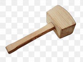 Wood Stonemasons Hammer - Hammer Mallet Lump Hammer Tool Stonemason's Hammer PNG