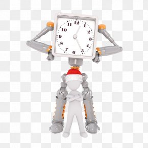 Robot Photos - Robot Circadian Rhythm Intermittent Fasting Stock Photography PNG
