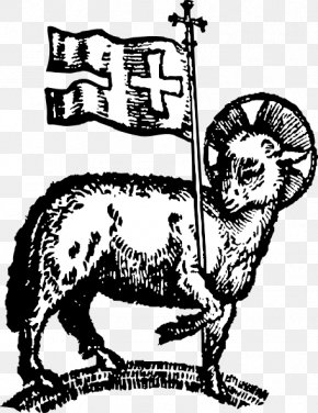 Lamb And Mutton - Sheep Lamb Of God Passover Sacrifice Lamb And Mutton Paschal Candle PNG