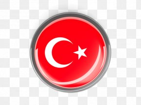 Turkish Flag Round - Flag Of Turkey Flag Of The Republic Of China National Flag PNG