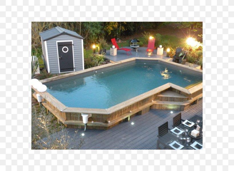 Hot Tub Piscine En Bois Swimming Pool Castorama Wood Png